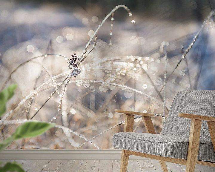 Sfeerimpressie behang: Winterse Bokeh van Ratna Bosch