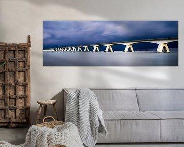 Zeelandbrug Panorama van Vincent Fennis