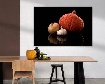 Stilleven van groente von Victor van Dijk