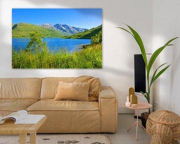 Gullesfjorden - Fjord in Norway van Gisela Scheffbuch