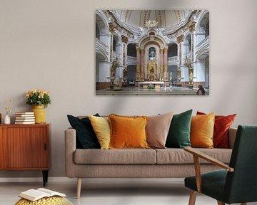 Altea Kerk interieur van Yannik Art