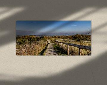 Uitzicht De Hors texel van Texel360Fotografie Richard Heerschap