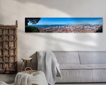 Lissabon Panorama von Whitney van Schyndel