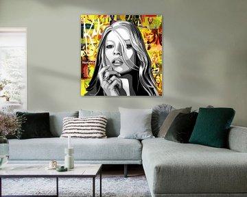 Kate Moss von Jole Art (Annejole Jacobs - de Jongh)