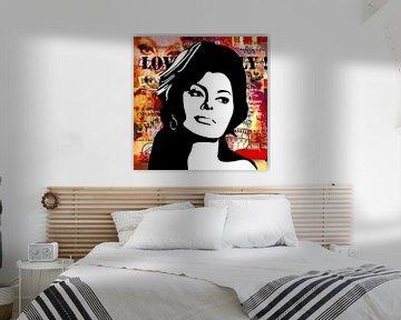 Sofia Loren von Jole Art (Annejole Jacobs - de Jongh)