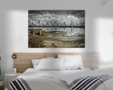 Artistiek shot van Panama stad