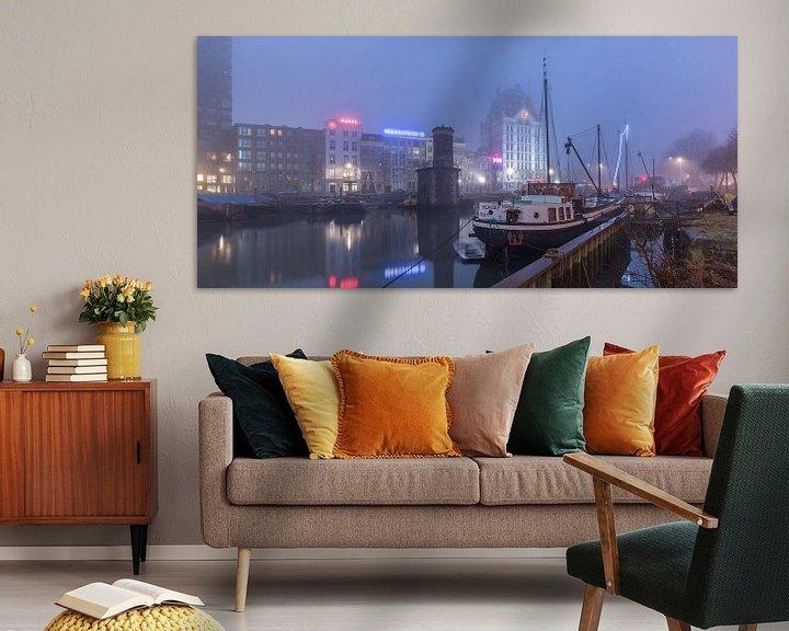 Sfeerimpressie: Oude Haven in Rotterdam van Rob van der Teen