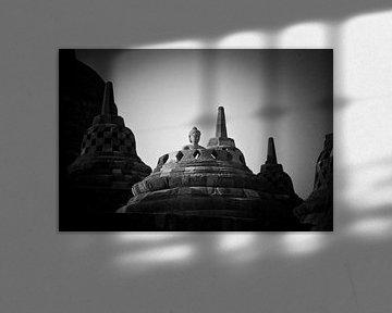 Indonesië - Borobudur von Wim Demortier