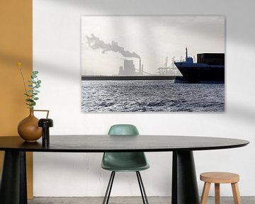 scheepvaart op de Nieuwe Waterweg von Rick Keus