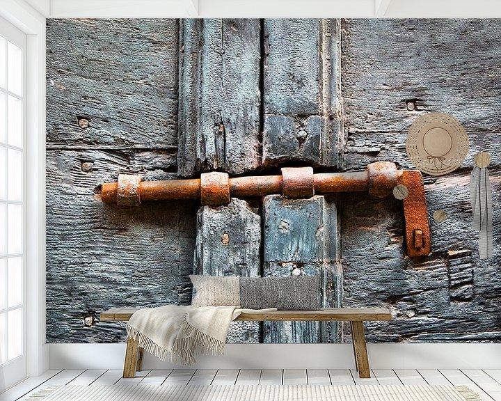 Sfeerimpressie behang: Gesloten van Wim Demortier