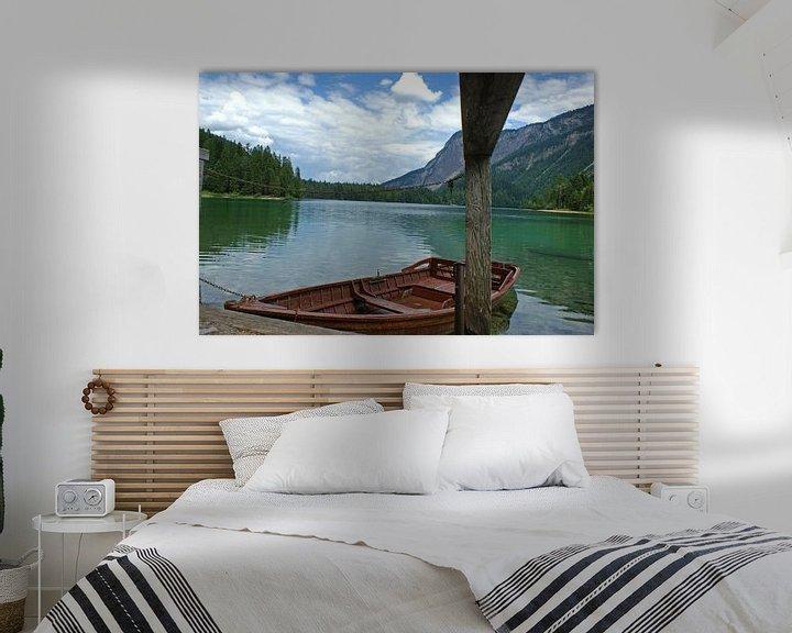 Sfeerimpressie: Dolomieten bergmeer van Jeroen van Deel