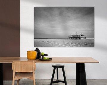 Strandtent in Noord-Holland