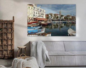 Authentieke pandjes rondom een idyllisch Frans vissershaventje van Gert van Santen