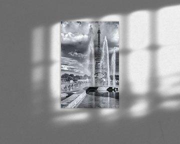 Eiffeltower van Eriks Photoshop by Erik Heuver