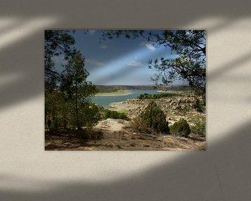 Ebro in Spanje van Piet van Winkel