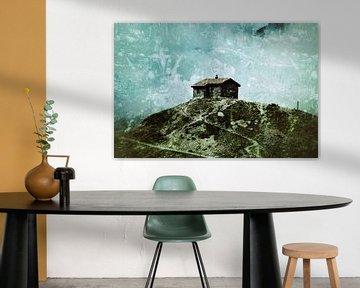 Oostenrijks berglandschap  van Kunst van Karin