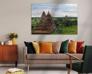 Ballonnen boven Bagan sur Dempsey Cappelle