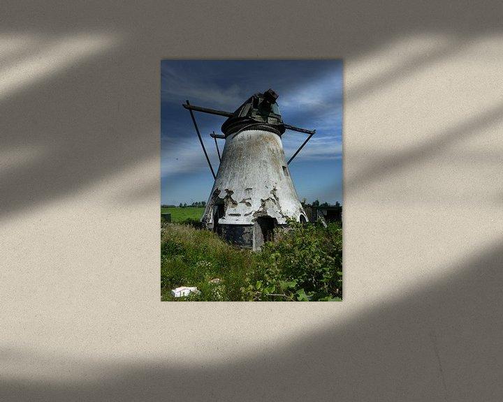 Beispiel: Verlaten molen von Piet van Winkel