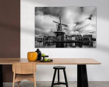 De Adriaan in Haarlem von Bart Veeken