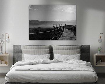 De rust is terug (Shköder, Albanië) von Michiel Kramer