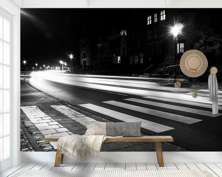 Sfeerimpressie behang: Snelheid van het licht van Sander Rozemuller