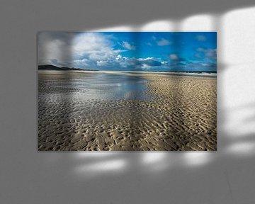 Strand an der Nordseeküste auf der Insel Amrum von Rico Ködder