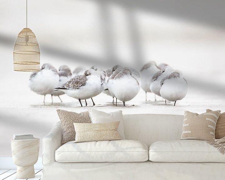 Sfeerimpressie behang: Totale rust.. van Pim Leijen