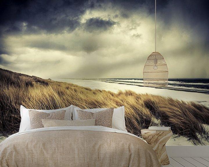 Sfeerimpressie behang: Island Storm van Nanouk el Gamal - Wijchers (Photonook)