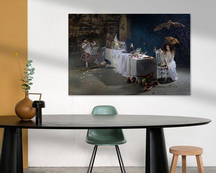Sfeerimpressie: What's for dinner? van Jeannine Van den Boer