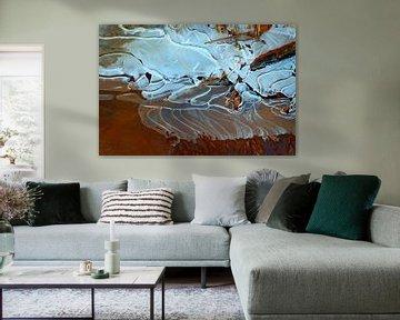 Smeltend ijs 1 van Marian Klerx