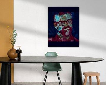 George Michael Daily Painting 08.01.2017 von Felix von Altersheim