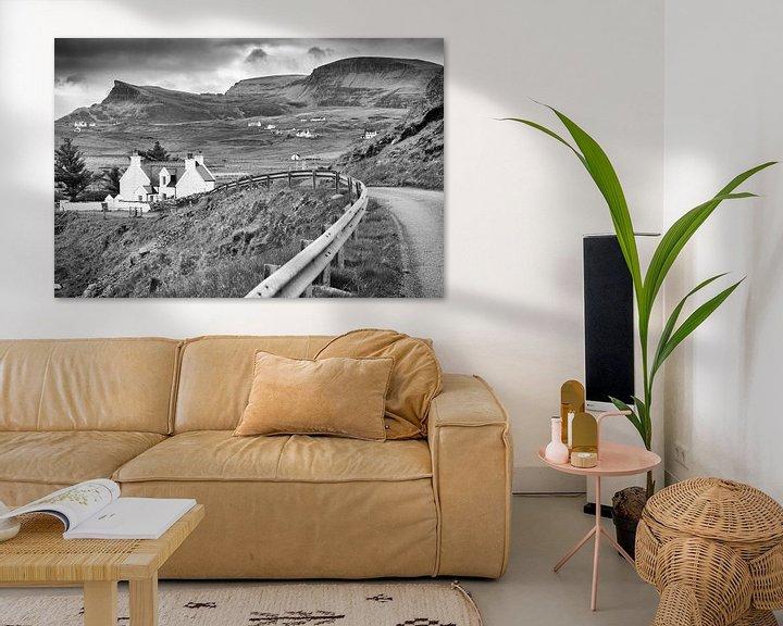 Beispiel: Typisch landschap in Schotland von Rob IJsselstein