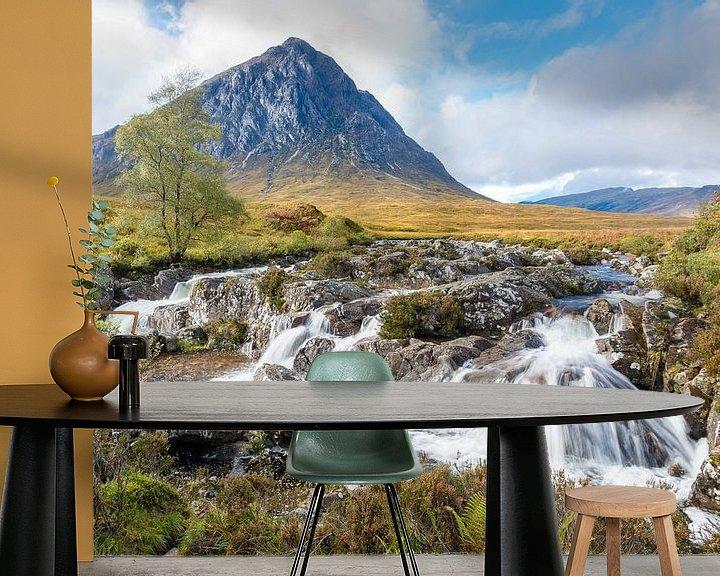 Beispiel fototapete: Watervallen bij Glencoe in Schotland von Rob IJsselstein