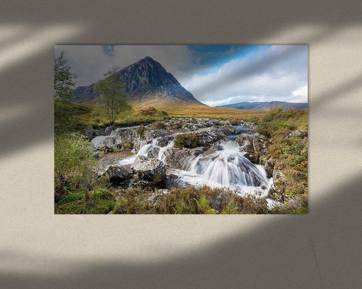 Beispiel: Watervallen bij Glencoe in Schotland von Rob IJsselstein