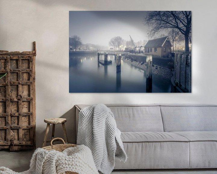 Sfeerimpressie: Oude Haven Rotterdam van Rob van der Teen