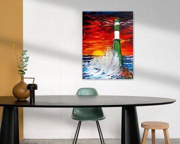 Lighthouse van Eberhard Schmidt-Dranske