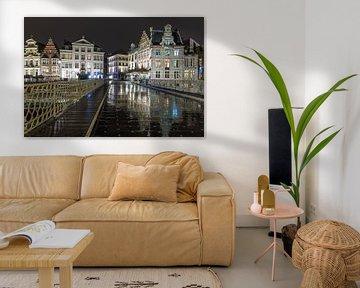 De brug over Leie in Gent van MS Fotografie | Marc van der Stelt