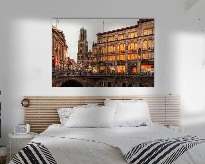 Sfeerimpressie: Oud Utrecht van Jan van der Knaap