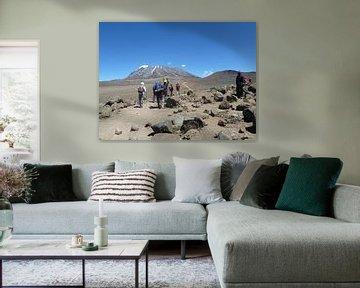 Beklimmen van Kilimanjaro van Dempsey Cappelle
