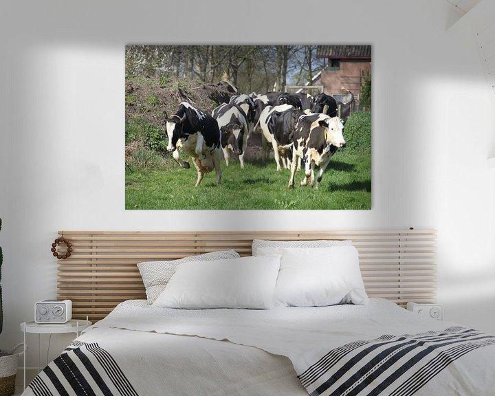 Sfeerimpressie: Happy Cows van Marcel van Rijn
