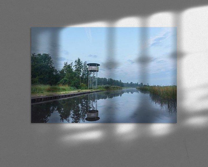 Sfeerimpressie: Uitkijktoren in de Wieden van Remco Van Daalen