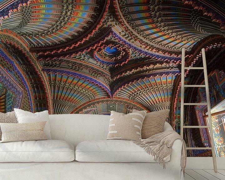 Sfeerimpressie behang: Castello di fantasia van Truus Nijland