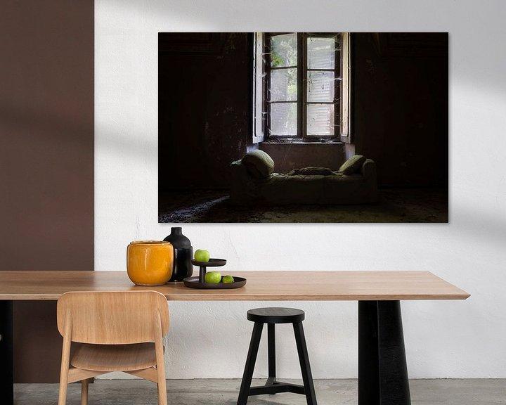 Beispiel: Licht auf dem Sofa. von Roman Robroek