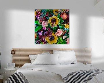 Bloemen bevroren boeket zonnebloemen von MONKI API
