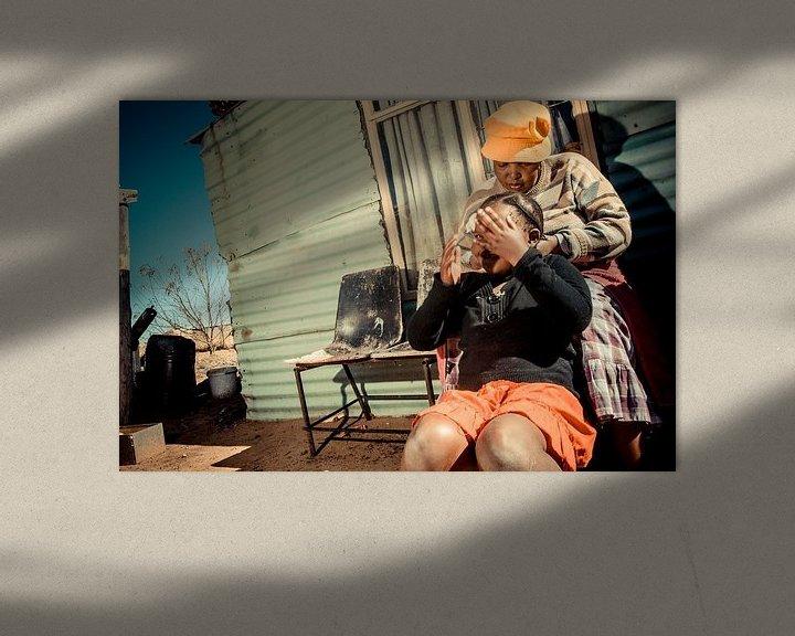 Sfeerimpressie: Vlechtjes in het haar van Urban South Africa