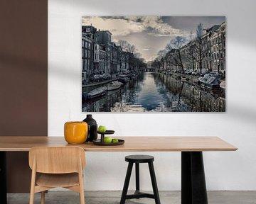 Amsterdam- view from a bridge von Anita Mulder