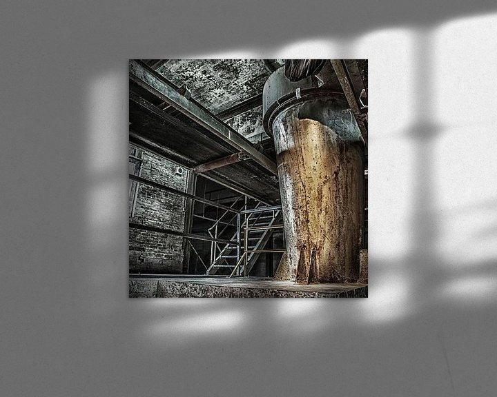 Beispiel: Urbex industrieel,  Maassilo in rotterdam von Bernadet Gribnau