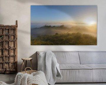 Magisch uitzicht vanaf de hoogste berg van Remco Van Daalen