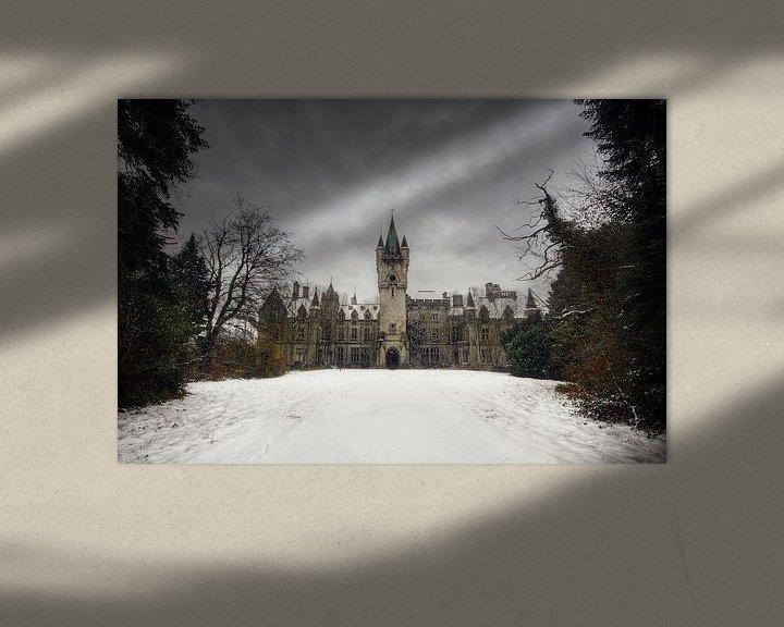 Beispiel: Urbex - Chateau de noisy von Angelique Brunas