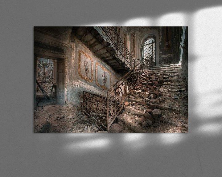 Sfeerimpressie: Stairs of decay van Olivier Photography